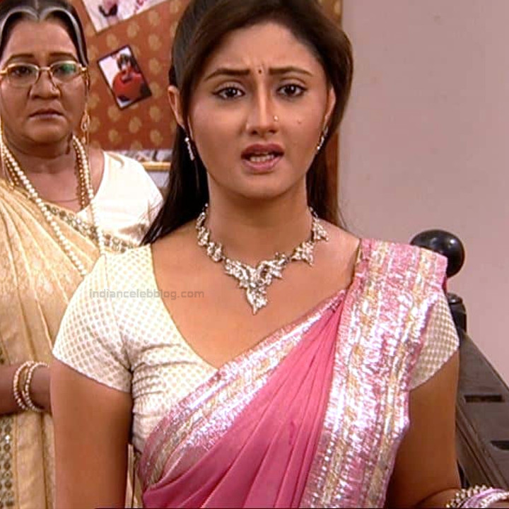 Rashami Desai hindi tv actress Uttaran S1 16 saree caps