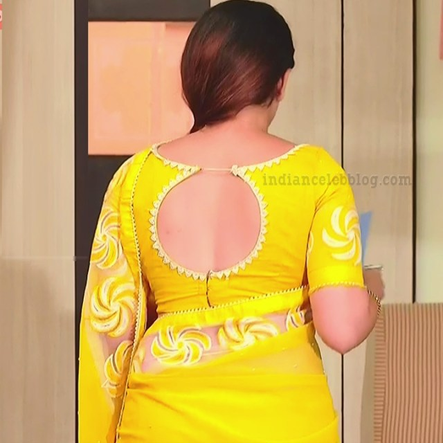 Aishwarya gowda telugu tv actress Akka MS1 15 saree photo