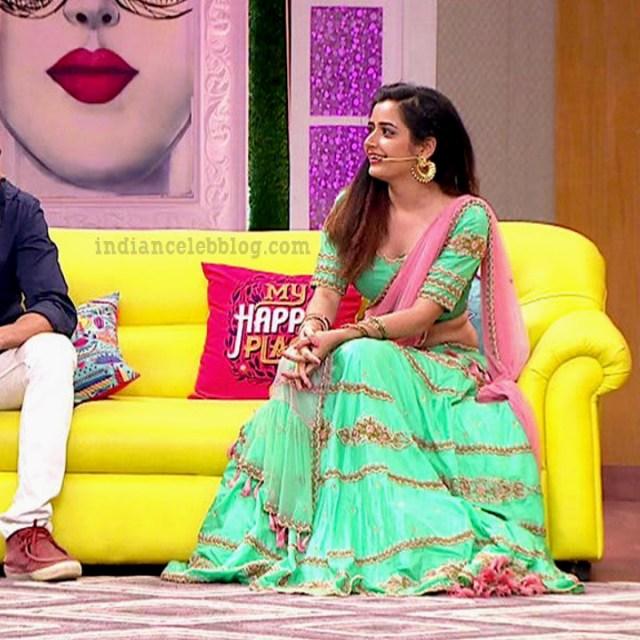 Ashika ranganath Kannada film actress EventsS1 1 Saree photo