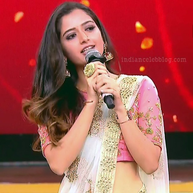 Ashika ranganath Kannada film actress EventsS1 8 Saree photo