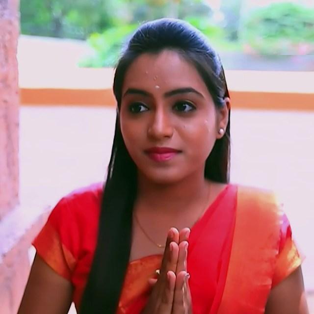 Deepika aradhya kannada TV actress Bili Hendthi S1 9 Sari caps