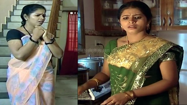 Jangiri Madhumitha Tamil TV PondattiTS1 7 saree photo