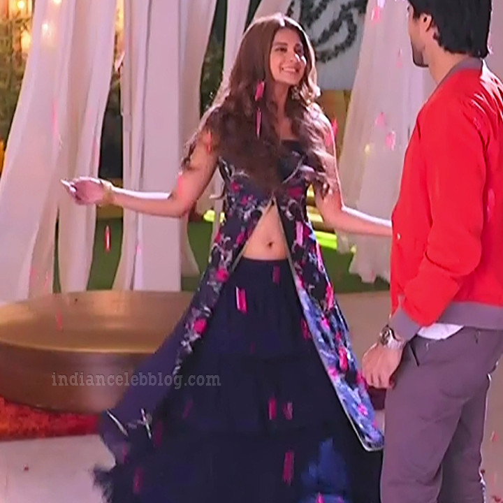 Jennifer winger hindi TV actress Bepanaah S1 7 hot gown photo
