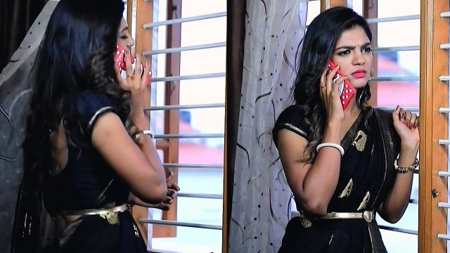 Kannada Serial actress Tapsee Satyam shivam SS1 1 Saree pics