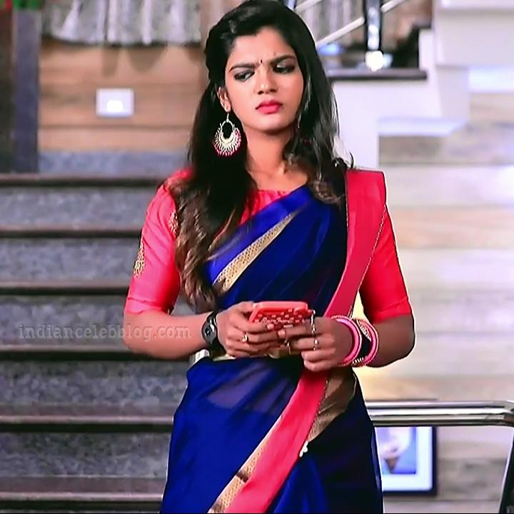Kannada Serial actress Tapsee Satyam shivam SS1 10 Saree photo