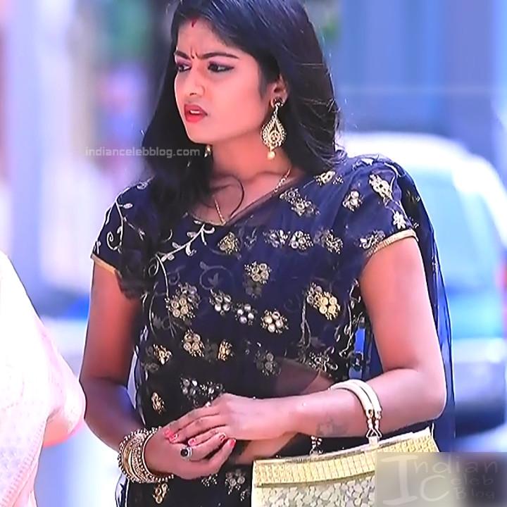Kannada TV actress Kinnari Aishwarya S1 16 saree photo