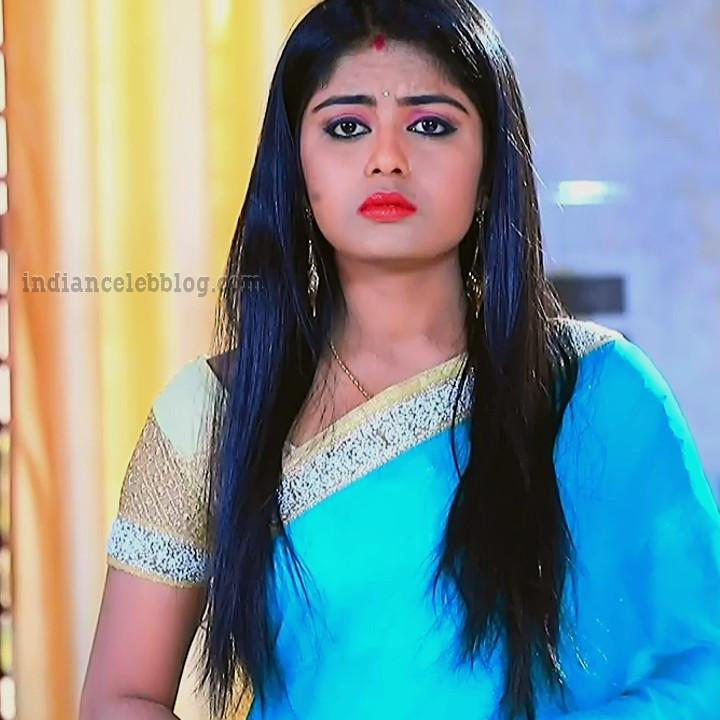 Kannada TV actress Kinnari S1 2 sari photo