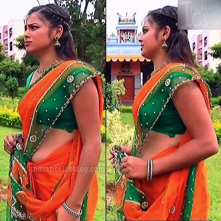Kannada tv serial actress MiCmpl5 14 saree pics