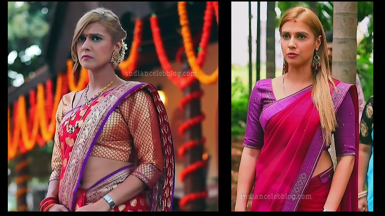 Krystyna devina lason Kannada TV actress caps in saree