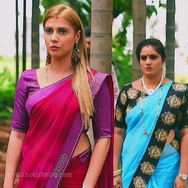 Krystyna devina lason kannada tv actress Bili HS1 4 sari photo