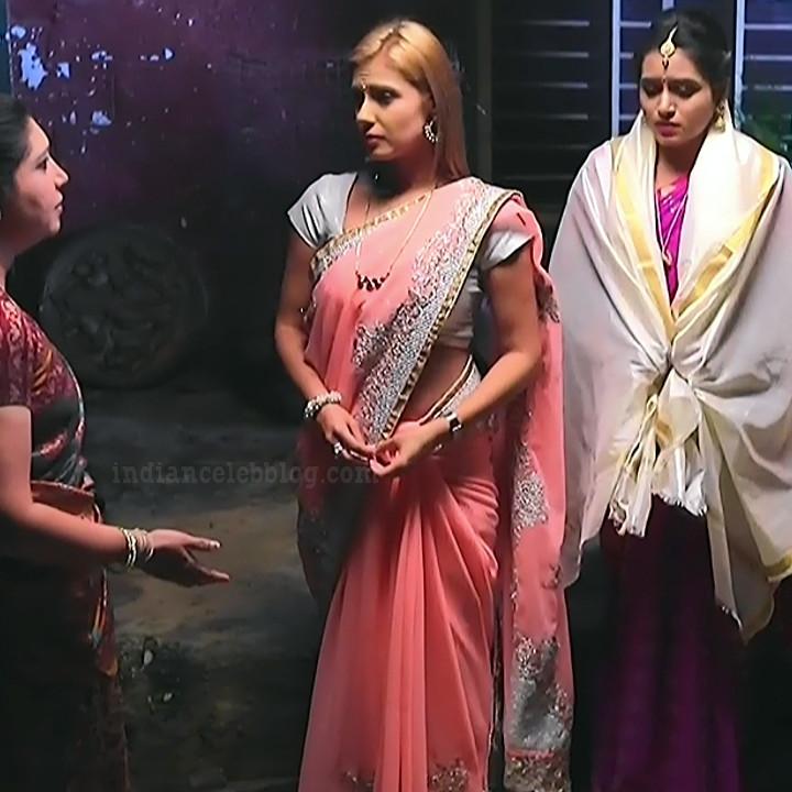 Krystyna devina lason kannada tv actress Bili HS1 6 sari caps