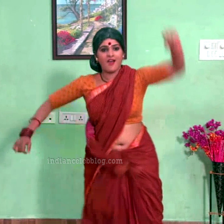 Monisha telugu serial actress nandhini VNS2 1 hot saree photo
