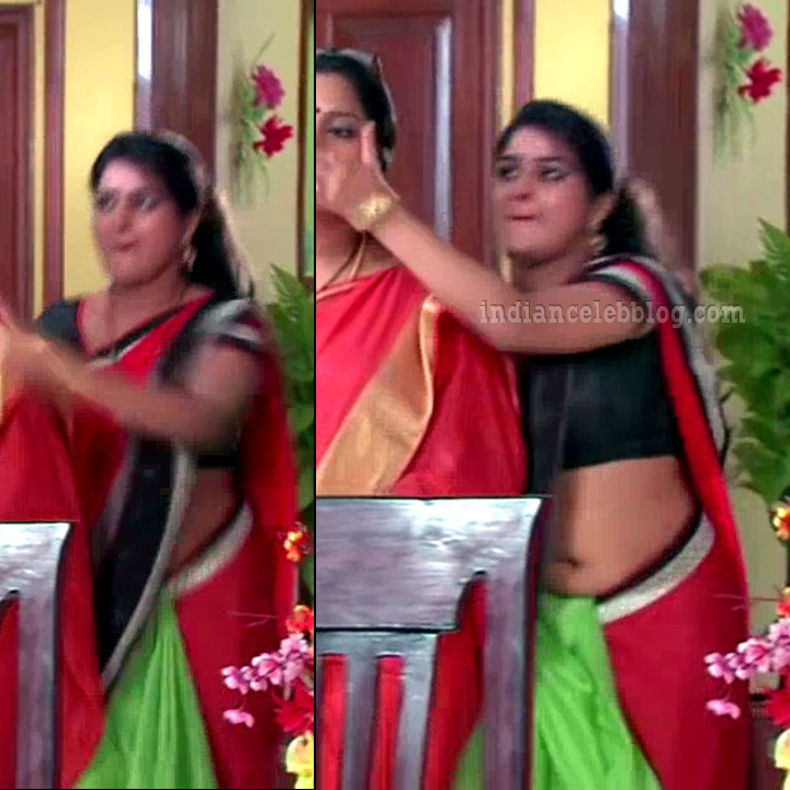 Monisha telugu serial actress nandhini VNS2 10 hot sari pics