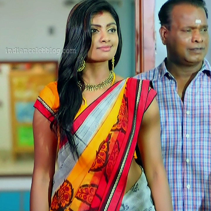 Nakshatra Srinivas Tamil TV serial Maya S1 12 Sari photo