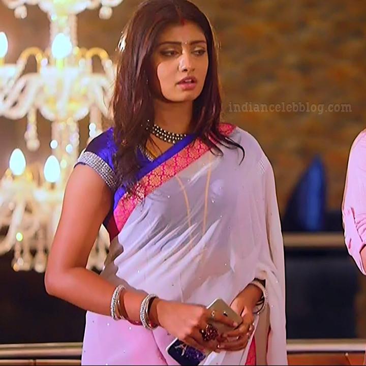 Nakshatra Srinivas Tamil TV serial Maya S1 6 Hot Saree photo