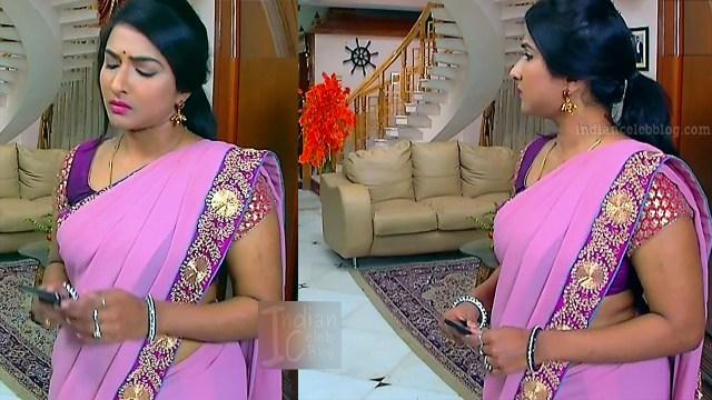 Ramya shankar Tamil TV actress Roja S1 3 Saree pics