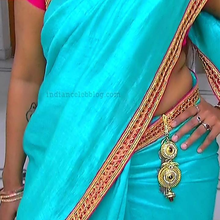 Ramya shankar Tamil TV actress Roja S1 8 hot Sari photo