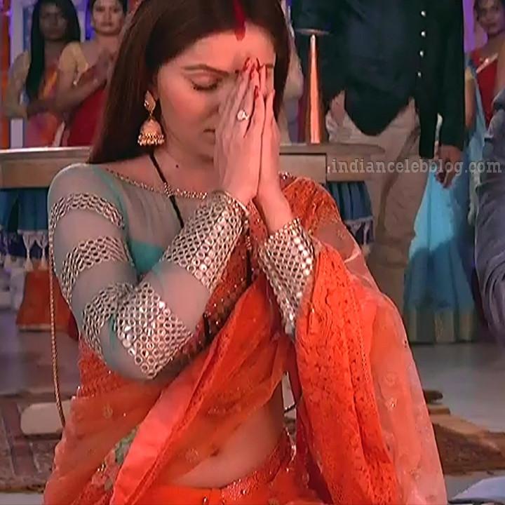 Rubina dilaik Hindi TV actress Shakti AS6 2 hot Saree photo