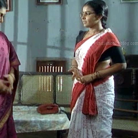 Siva Kavitha tamil tv actress aasai S1 7 saree photo