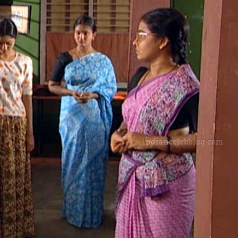 Siva Kavitha tamil tv actress aasai S1 9 saree caps