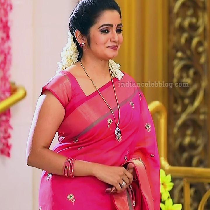 Srithika tamil TV actress KVS1 5 hot saree photo