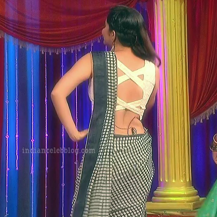 Anasuya teleugu TV anchor Reality show 4 hot saree dance