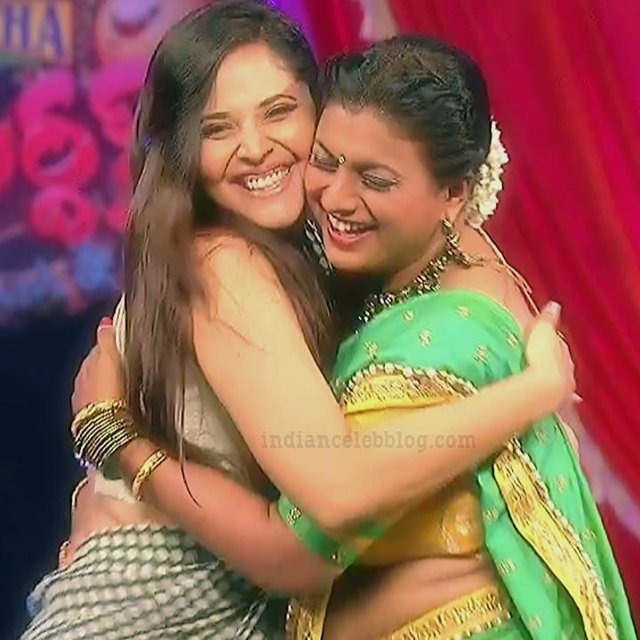 Anasuya teleugu TV anchor Reality show 6 hot saree pic