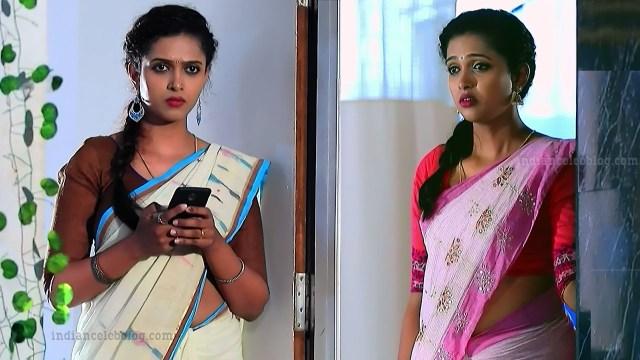 Apoorva bharadwaj kannada tv actress S2 5 sari photo