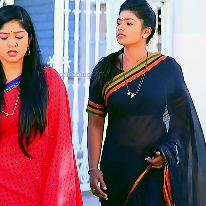 Bhoomi shetty kinnari kannada tv actress S4 6 saree photo