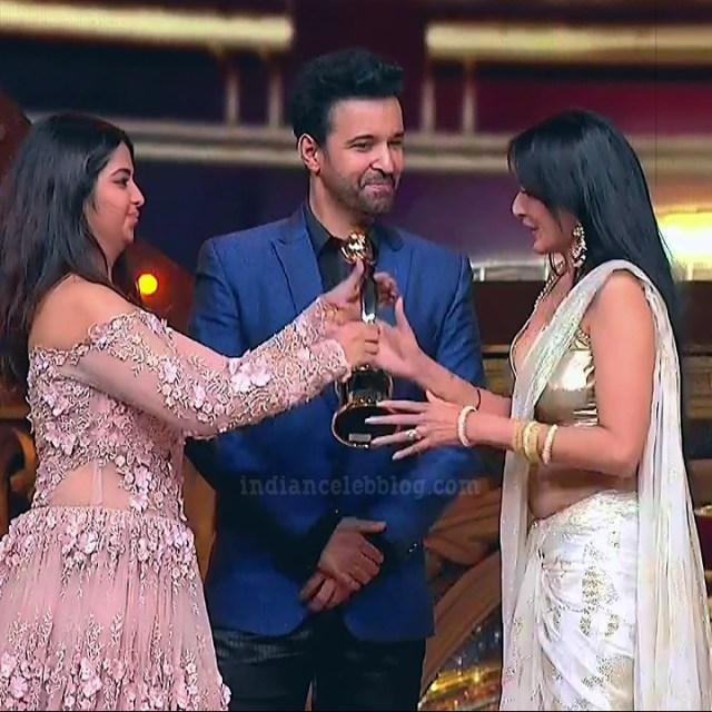Kamya-punjabi-in-sari-kesh-king-gold-awards-2018_9