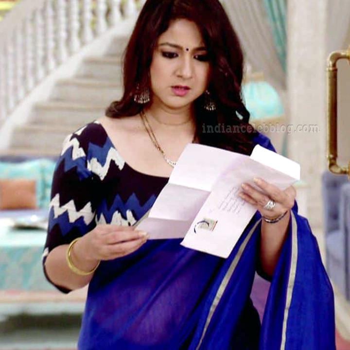 Keerti gaekwad Sasural simar ka TV serial S1 5 saree pic