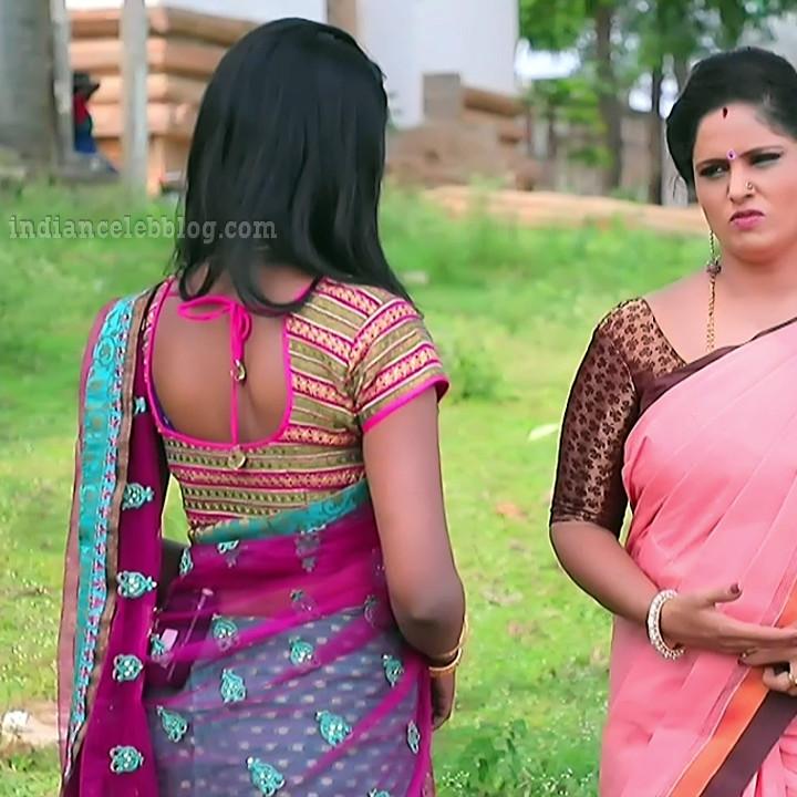 Manya anand kannada TV actress BiliHS2 11 sari photo