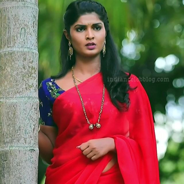 Manya anand kannada TV actress BiliHS2 6 saree photo