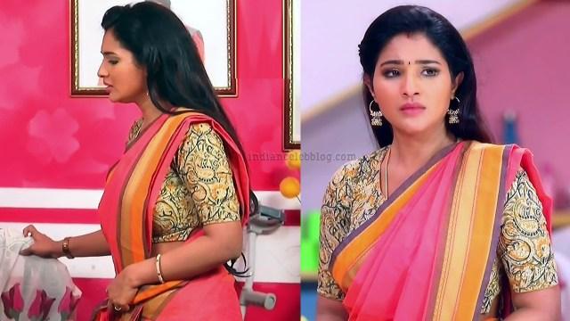 Sharanya turadi nenjam marppathillai actress S1 4 saree pics
