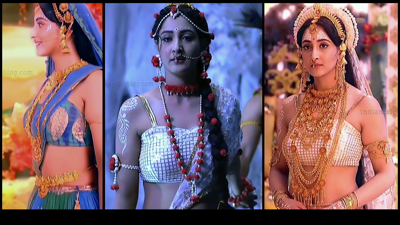 Shivya Pathania hot caps from hindi tv show Radhakrishn