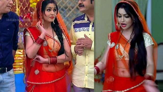 Shubhagi atre hindi serial Bhabhiji ghar 4 hot saree pics