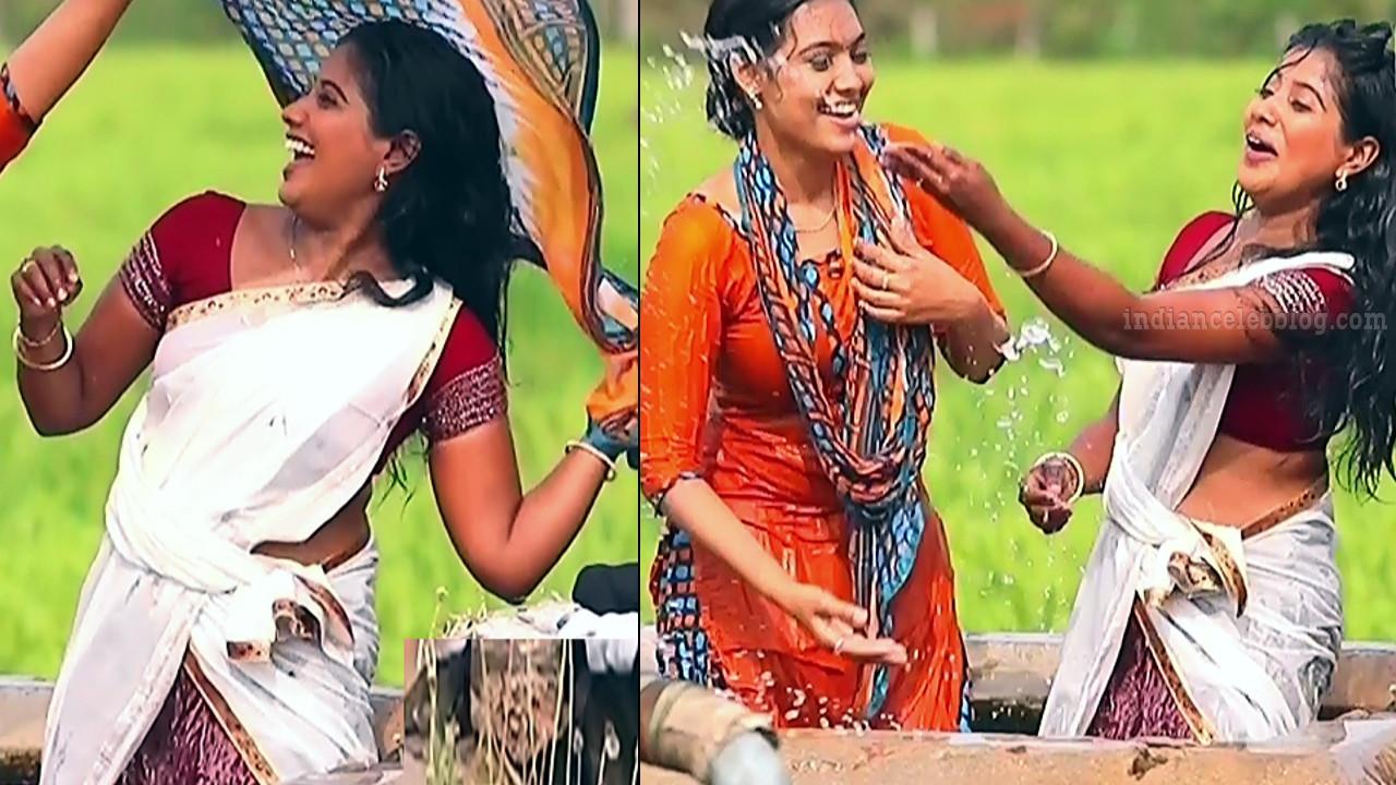 Tamil TV serial actress MscCmplS1 6 sari pics