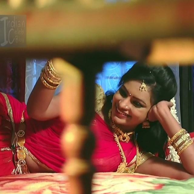 Telugu TV serial actress MscC5 6 saree pic