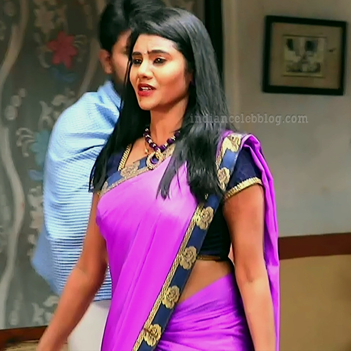 Nivisha tamil tv actress eeramana rojave s1 9 sari photo