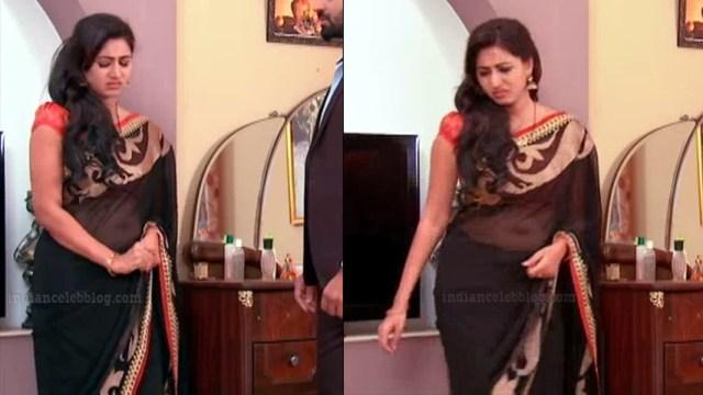 Revathi telugu tv serial actress S1 4 saree photo