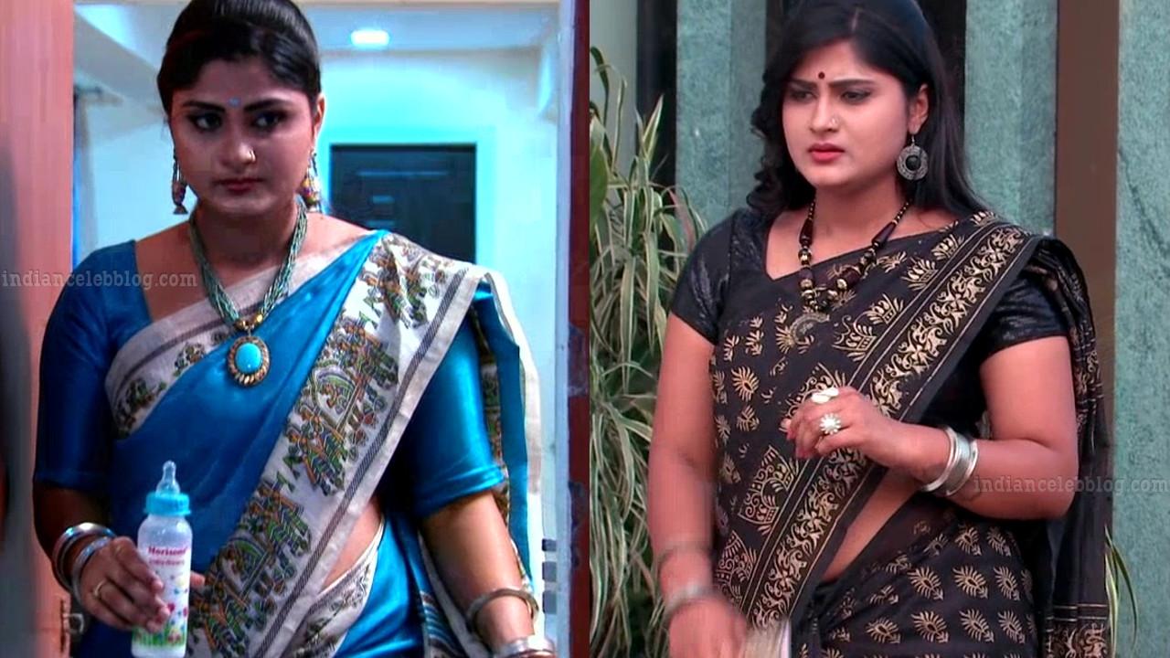 Tena Manasulu Telugu TV actress UKAS1 8 saree photo