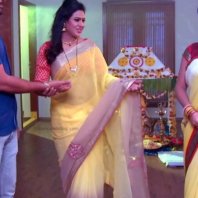 Tina naidy telugu serial actress swathi chinukulu s1 6 saree pics