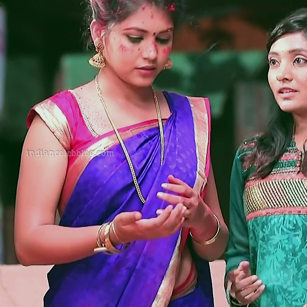Amulya Gowda Kamali kannada serial actress S1 18 photo