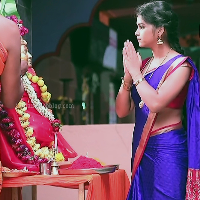 Amulya Gowda Kamali kannada serial actress S1 21 photo