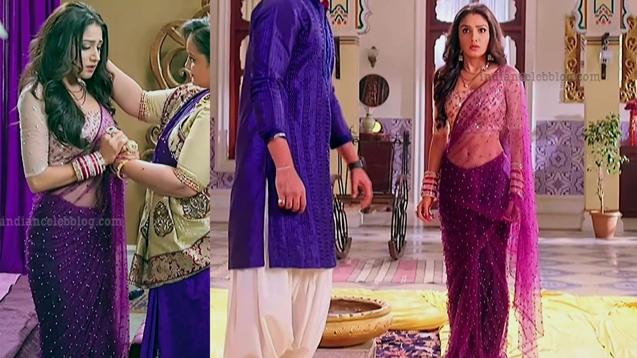 Donal bisht roop mard serial actress S2 7 saree pics