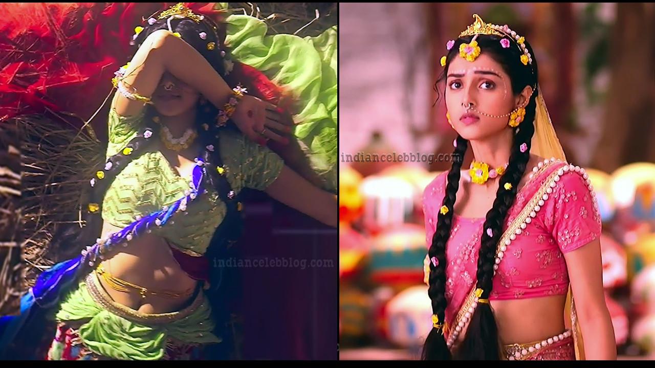 TV actress Mallika singh from Radha krishn serial