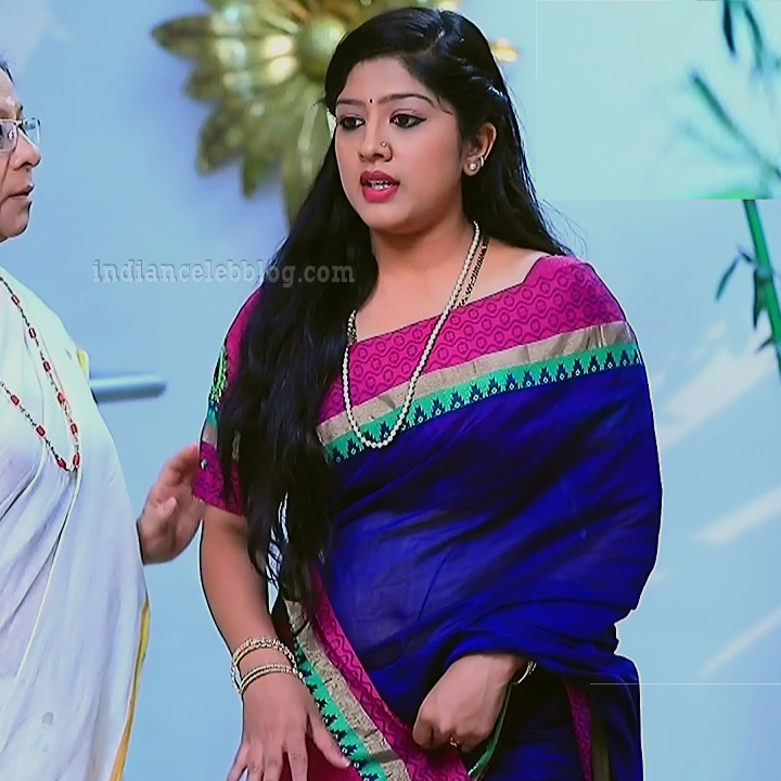 Meghana shankarappa kannada tv actress Kinnari S4 15 saree pic