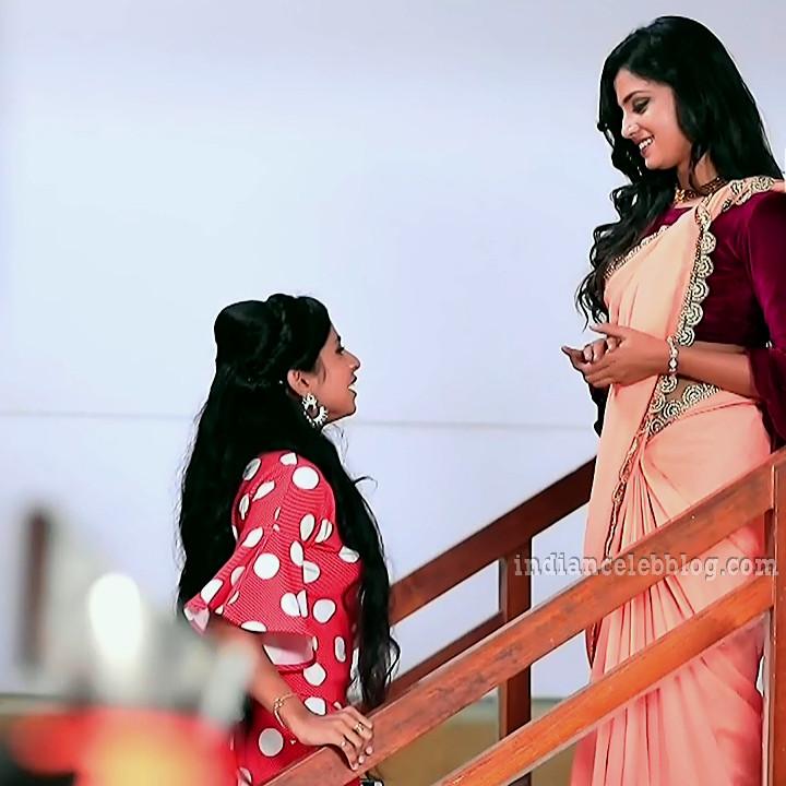 Raksha gowda Putmalli serial actress S2 1 saree photo