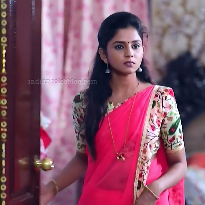 Raksha gowda Putmalli serial actress S2 5 saree photo