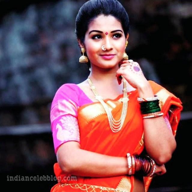 Sharanya turadi nenjam marappathillai actress CTS1 1 saree photo
